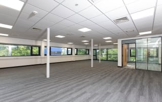 We have office space between 1,250 sq ft to 5,000 sq ft. available at NETPark Explorer
