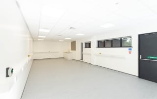 Clean room space at NETPark Explorer