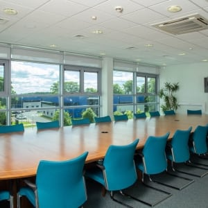 We have a range of meeting rooms available to virtual tenants in a variety of sizes