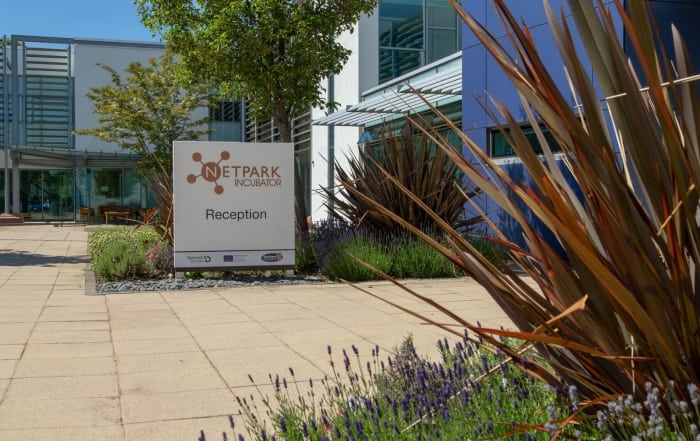 The NETPark Incubator has a number of meeting rooms for hire