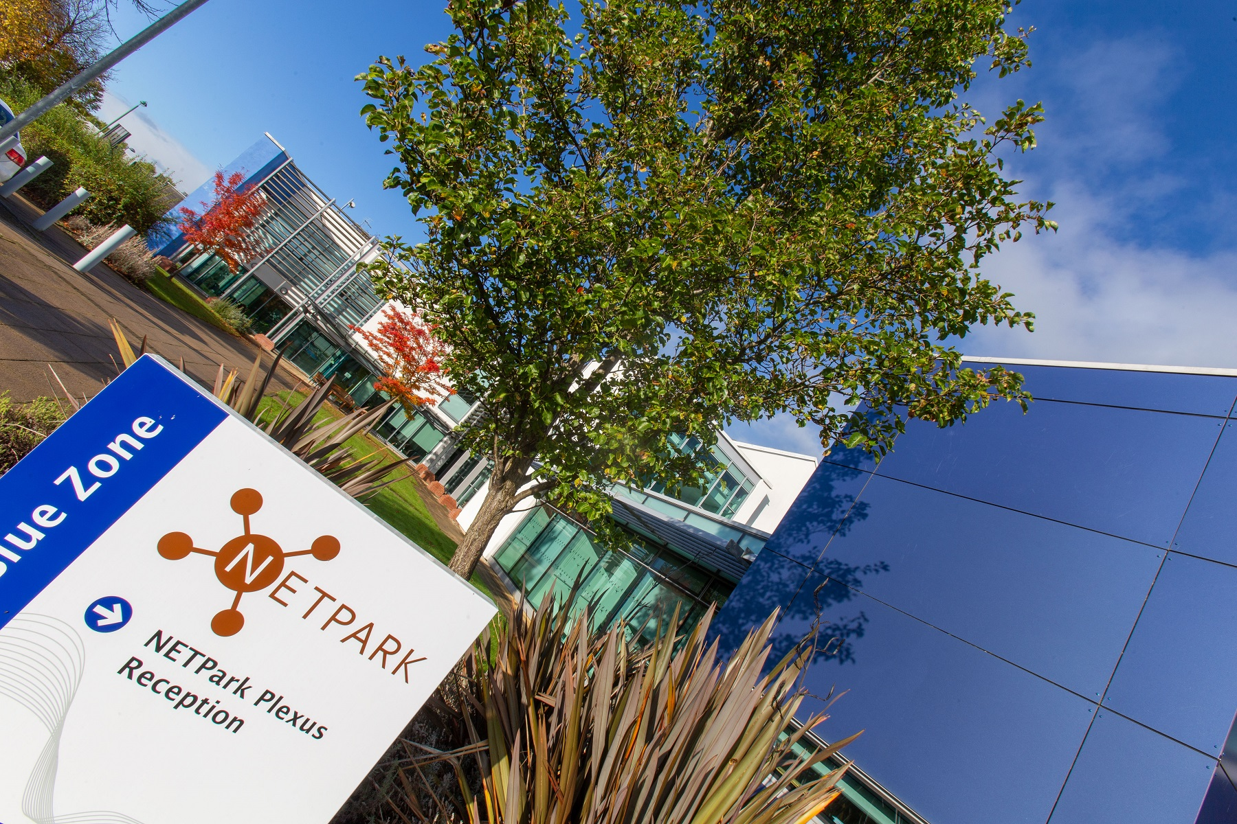 NETPark is the only UK science park with two UK catapult centres