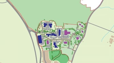 Development land at NETPark