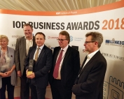 Victory for north east-based Stream Bio at Institute of Physics Business Awards 2018