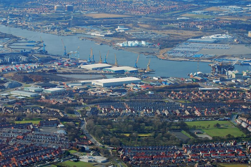Port of Tyne aerial view (Image Steve Ellwood