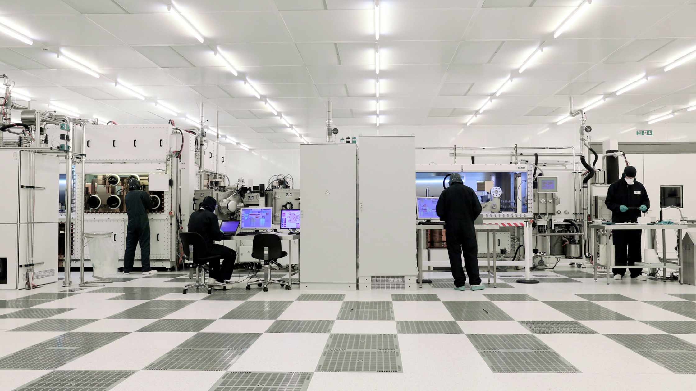 Printed electronics cleanroom at CPI's National Printable Electronics Centre