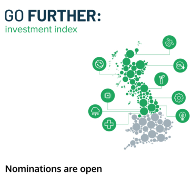 Companies working within Northern Powerhouse or Scotland region have been invited to apply to feature in the GO FURTHER investment index.
