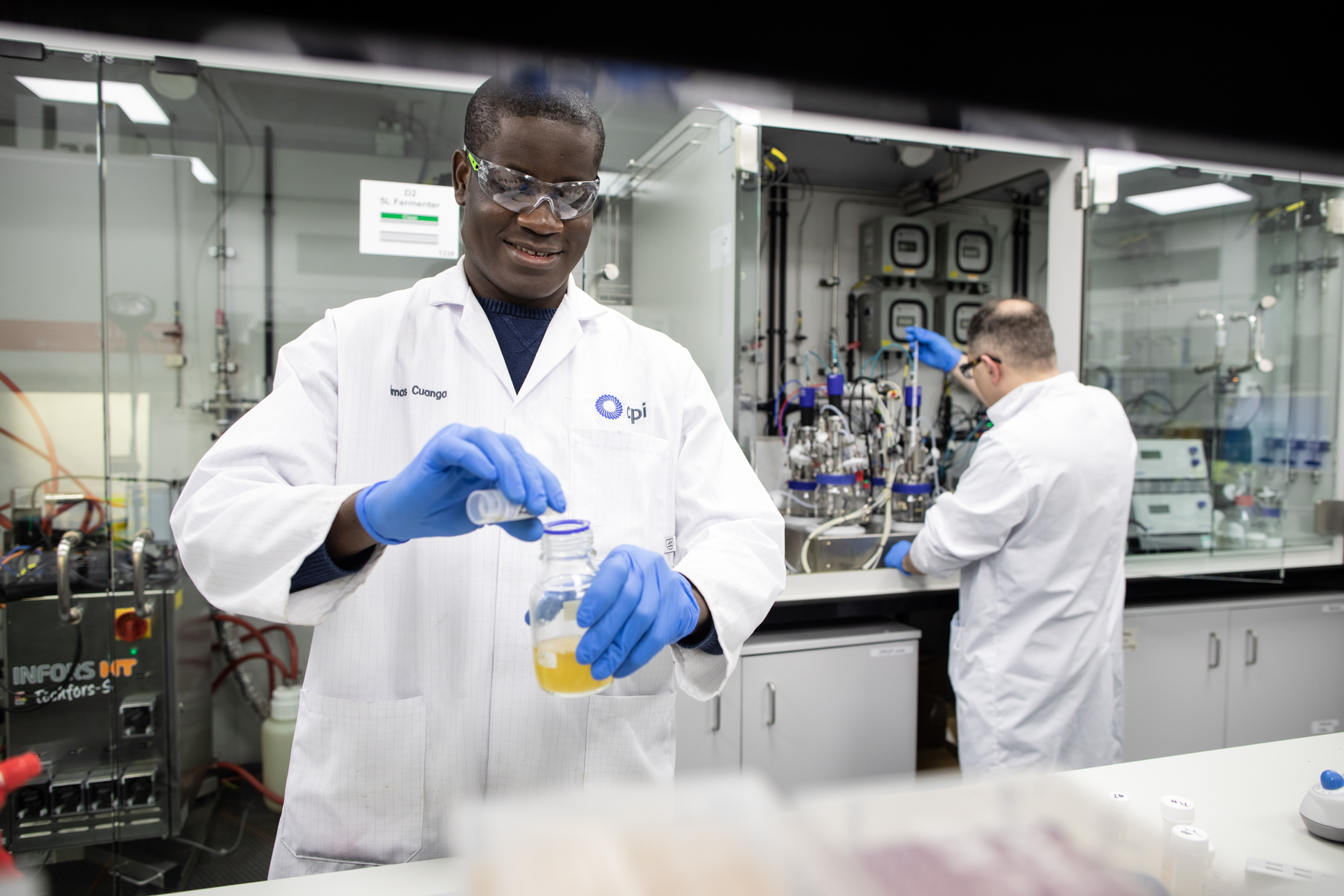 CPI team members work to develop next-generation sustainable aviation fuel